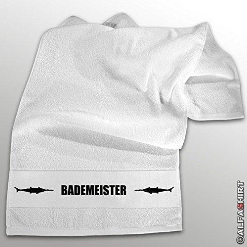 Copytec 'Camiseta, Lucha flotador Marino Buceo Arma Buceo Bundeswehr cintura BW–Toalla de mano (Negro, 100x 50cm) # 11249