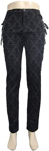 marca de lujo WLM 2018 2018 2018 otoño e Invierno Pantalones de Escenario de Estilo Europeo y Americano, Pantalones, Pantalones de Hombre, Tendencia Delgada  60% de descuento