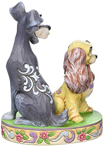 Disney Traditions Lady and The Tramp 60th Anniversary, White