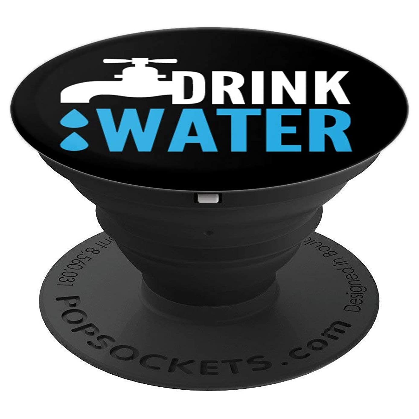 Drink Water Stay Hydrated Workout Fitness - PopSockets Grip and Stand for Phones and Tablets