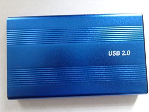 SANOXY USB 2 0 to IDE 2 5 Hard Disk Drive HDD Aluminum External Case Enclosure 500GB Max Capacity product image