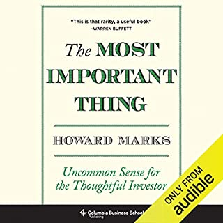 The Most Important Thing audiobook cover art