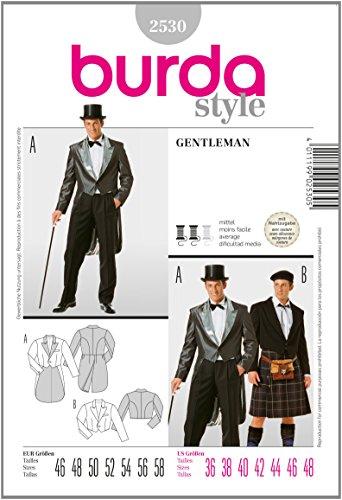 Burda Schnittmuster 2530 Gentleman Gr. 46-58