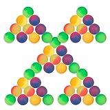 Schramm 50 Piezas de Pelotas de Rebote Escarcha 27mm de Pelotas de Rebote Bola de Rebote Bola de Rebote con sorteo Cumpleaños de los niños 50 Pack