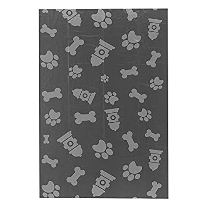 Best Pet Supplies Dog Poop Bags for Waste Refuse Cleanup, Doggy Roll Replacements for Outdoor Puppy Walking and Travel, Leak Proof and Tear Resistant, Thick Plastic - Gray, 240 Bags (GR-240B) 3