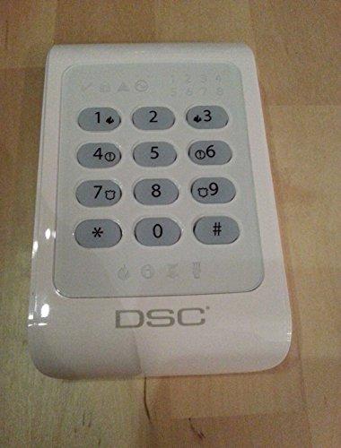 DSC Sistema de alarma de seguridad - PC1404RKZWH PowerSeries 8 zonas LED teclado