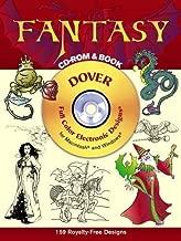 Fantasy على قرص مدمج و (الكتب الإلكترونية Dover مشبك Art)