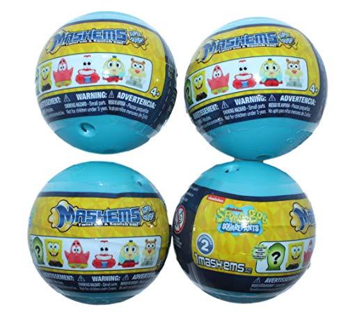 Mashems Spongebob Squarepants Series 2 (4 Sphere Pack)