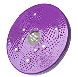chengsi Twisting Waist Disc Bodytwister Ankle Body Aerobic Exercise Foot Exercise Fitness Twister Magnet Balance Rotating Board nyp01 (Purple)