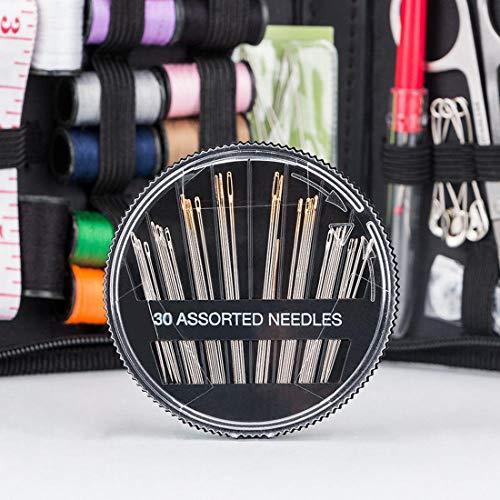 GAOHOU14種カラーソーイングセット裁縫セットソーイングボックス携帯式収納バッグ付きミシンアクセサリー多色縫い糸トラベルセット