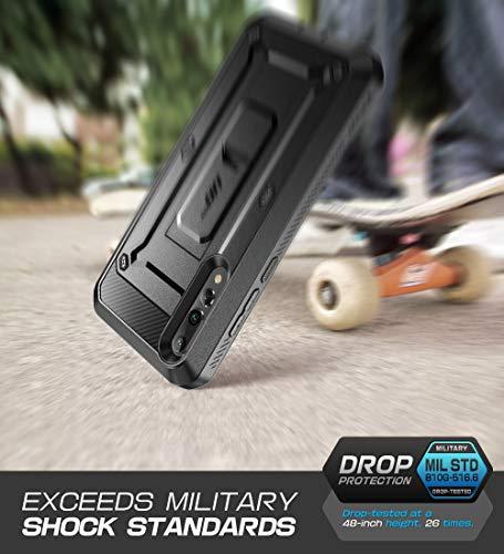 SupCase Huawei P20 Pro Hülle 360 Grad Handyhülle Bumper Case Robust Schutzhülle Cover [Unicorn Beetle Pro] mit Integriertem Displayschutz und Ständer für Huawei P20 Pro 2018 (6.1 Zoll) (Schwarz)
