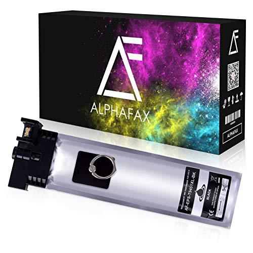 Alphafax Tintenpatrone kompatibel für Epson Workforce Pro WF-C5710DWF WF-C5210DW WF-C5290DW WF-C5790DWF C13T945140 T9451 Schwarz 5000 Seiten