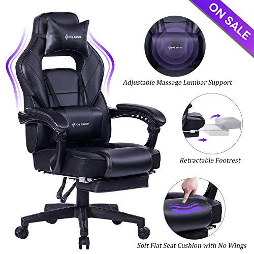 Massage Reclining Gaming Chair - VON RACER...