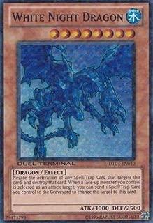 Yu-Gi-Oh! - White Night Dragon (DT04-EN010) - Duel Terminal 4 - 1st Edition - Super Rare