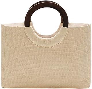 Lulu Dharma Basketweave Raffia Tote Bag