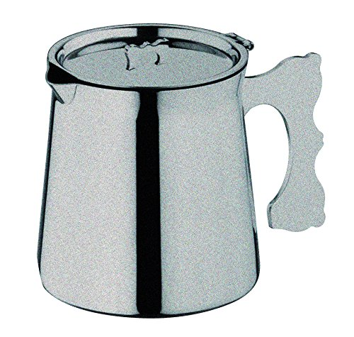Mepra Due dienblad, 97 liter theepot roestvrij staal Dolce Vita, tin