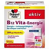 [page_title]-Doppelherz B12 Vita-Energie Trinkfläschchen – Energie und Leistungsfähigkeit für Körper und Geist – Vitamin B12 zur Verringerung von Müdigkeit und Erschöpfung – 30 x 10 ml