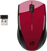 HP 2.4GHz Wireless Mouse X3000 (Empress Red) - 2HW69AA#ABL