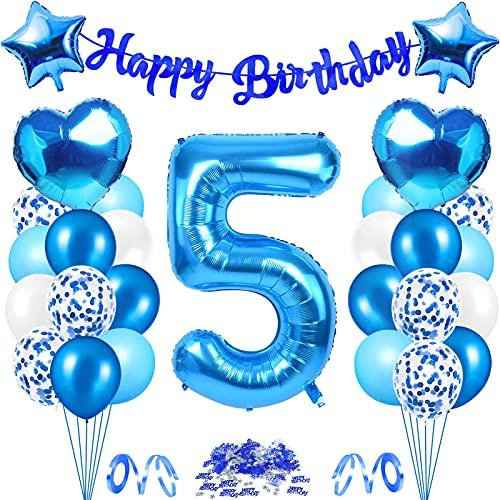 Decoraciones de Cumpleaños Azul Plata,cumpleaños Azul Plata Globos,cumpleaños decoración plata azul Niños,cumpleaños Decoración globo,Globos Cumpleaños Decoracione,Decoraciones cumpleaños (5)