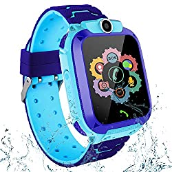 powerful Waterproof smartwatch for kids, touchscreen smartwatch for boys and girls LBS Locator 2 …