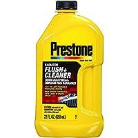 Prestone Yellow AS105 Radiator Flush and Cleaner 22 Fl. Oz