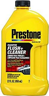Prestone AS105-6PK Radiator Flush and Cleaner – 22 oz, (Pack of 6)