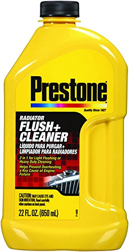 Prestone Yellow AS105 Radiator Flush and Cleaner