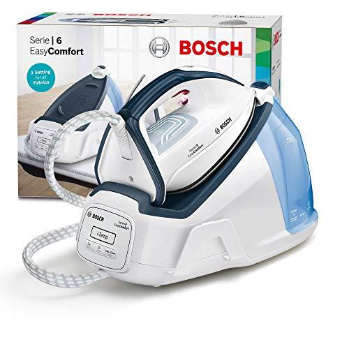 Bosch TDS6150 Centrale Vapeur Série 2400 W, 1,3 L, Blanc/Bleu Nuit