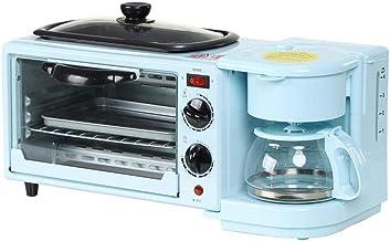 Sandwich Toastie Maker con Máquina de Desayuno Multifuncional Máquina Antiadherente Horno de Gran Capacidad Horno WTZ012