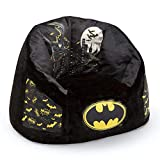 Batman Cozee Fluffy Chair by Delta Children, Kid Size (for Kids Up to 10 Years Old)