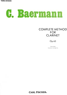 Complete Method for Clarinet: Third Division
