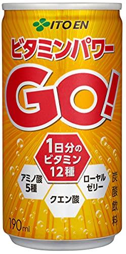 [栄養機能食品] 伊藤園 ビタミンパワーGO 缶 190ml×30本