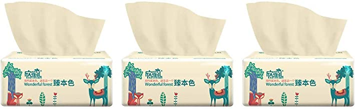 (in Stock) Family roll of Toilet Paper, Home Kitchen Enviro Friendly Recycled Toilet Tissue Multifold Household Toilet Papers with Fast-Drying Absorbency Pockets 300Sheets/ Pack, Toilet Paper