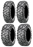Full set of Maxxis BigHorn 2.0 Radial 25x8-12 and 25x10-12 ATV Tires (4)
