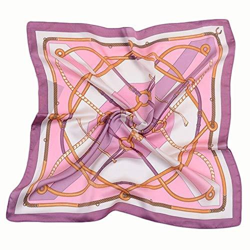 JS-Bonita Frauen Sommer Neue Seidenschal Mode Retro Art Schal Schal (Color : 03)