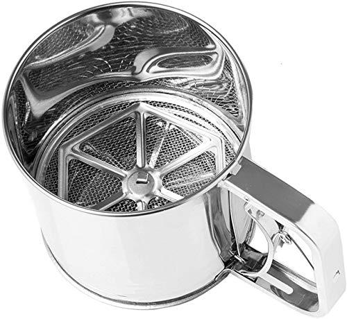 Space Home - Tamizador Cribador de Harina - Inox - 500 g