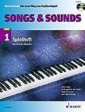"""Songs & Sounds: 56 Arrangements. Spielheft zu """"Der neue Weg zum Keyboardspiel 1"""". Band 1. Keyboard. Spielheft (Spielbuch) mit CD. - Axel Benthien"""
