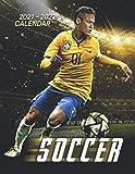 Soccer Calendar 2021-2022: Great 18-month Grid Calendar 2022 from Jan 2021 to Jun 2022 for all fans!!!
