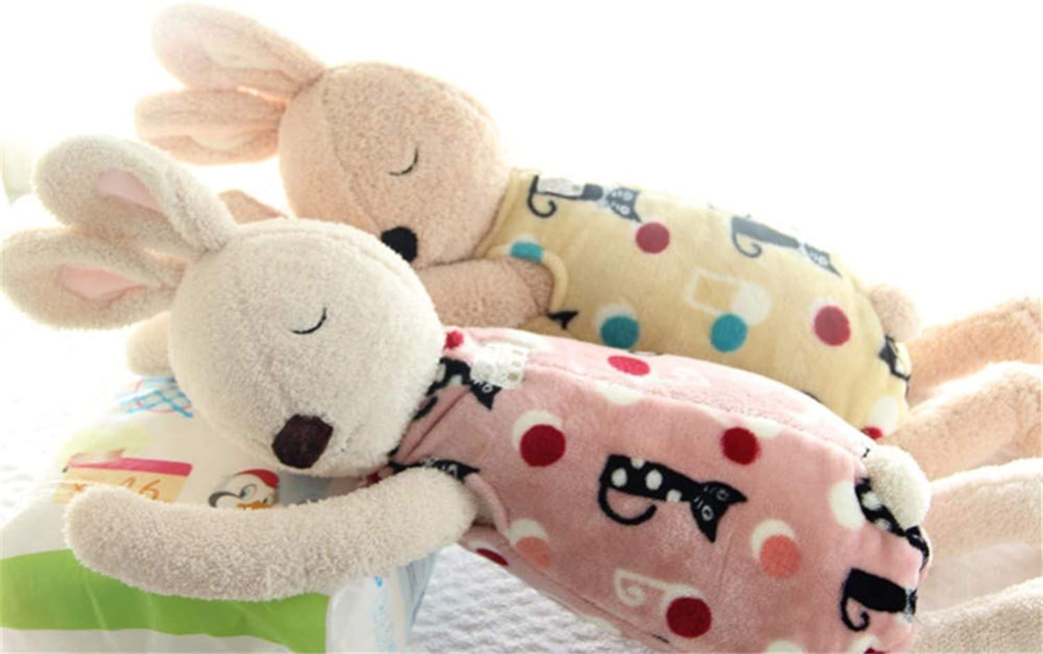 DIEIGEIHAO Bunny Adult Baby Pillow Plush Toy Rabbit Doll Gift, 21
