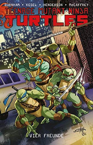 Preisvergleich Produktbild Teenage Mutant Ninja Turtles: Bd. 6: Vier Freunde