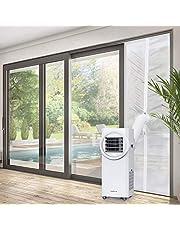 Sekey 210CM Cubierta Aislante Sellado para Puertas, para Aparatos De Aire Acondicionado Portátiles y Secadoras, Fácil Instalación y a Prueba de Agua,Evita La Entrada de Mosquitos