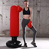 LONEEDY Gonflable autoportant Punching-Ball, Sac Lourd de Formation, Adultes...