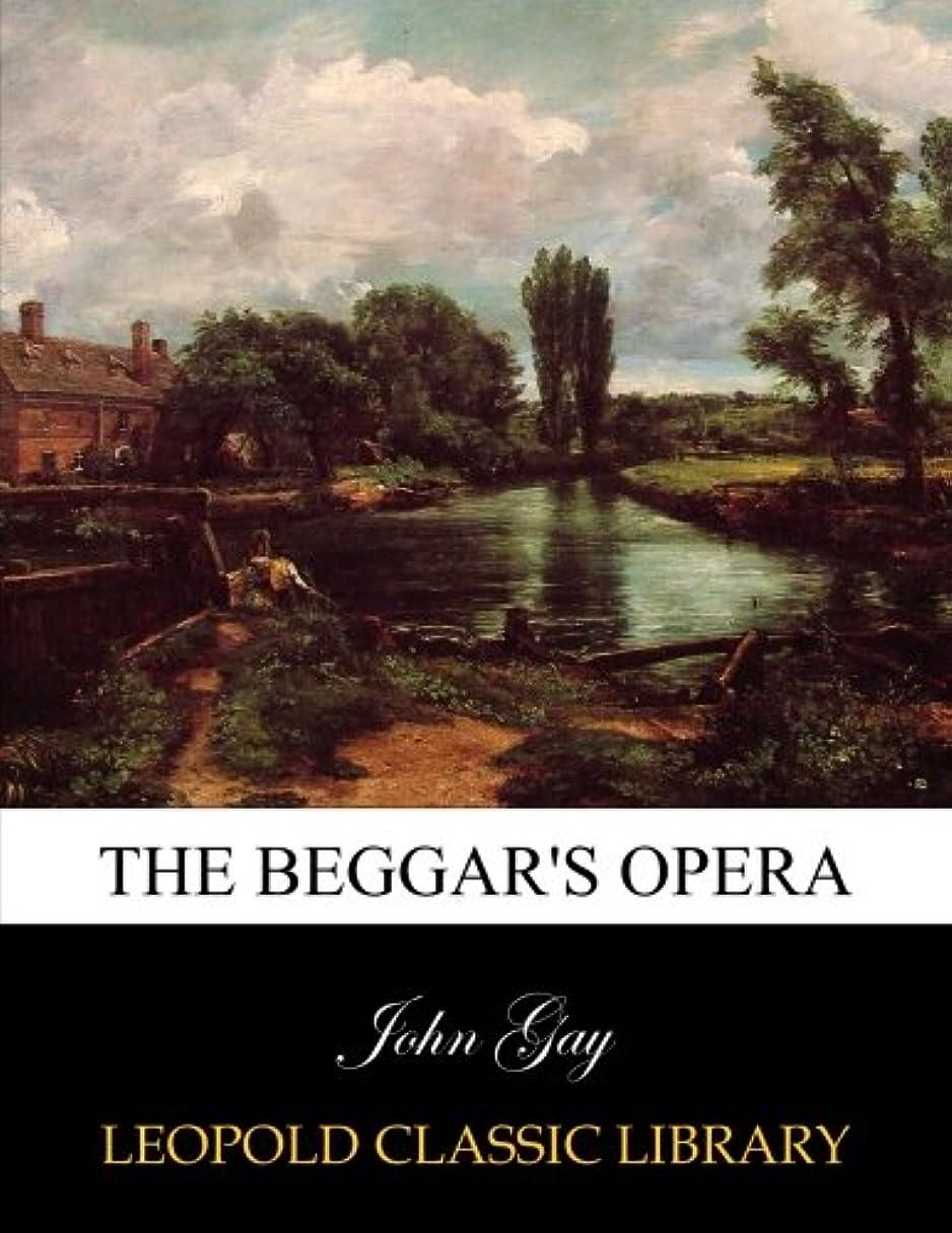枯渇キリスト子音The beggar's opera