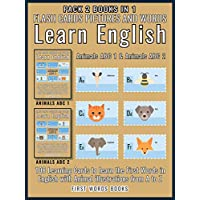 Pack 2 Books in 1 - Animals ABC 1 and Animals ABC 2 - Flash Cards Pictures and Words Learn English: 108 Learning Cards to Learn English the Easy Way with ... Words In English Book 3) (English Edition)