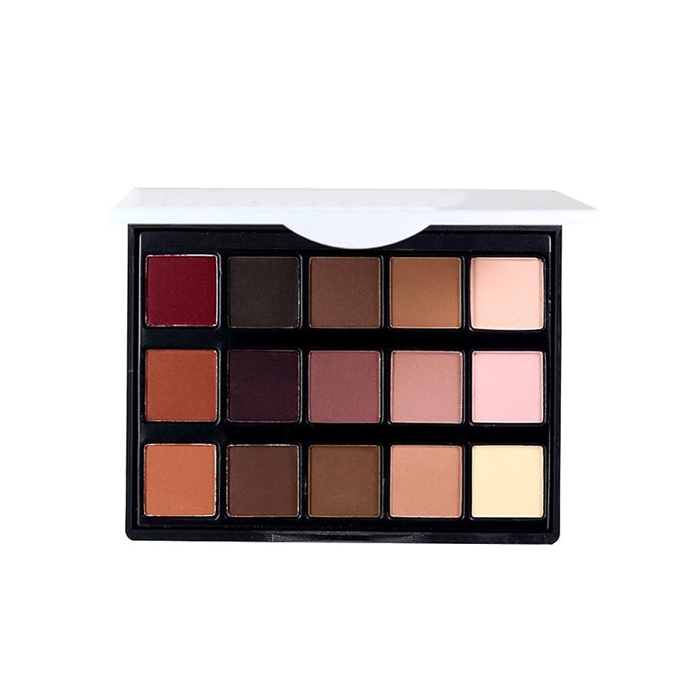 雇用者強いますメナジェリー女性 プロフェッショナル15色 眼 影 化粧品 パレット アイシャドウ アイメイク アップ化粧品 1