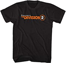 The Division Action Role-Playing Video Game Division 2 Logo Adult T-Shirt Tee