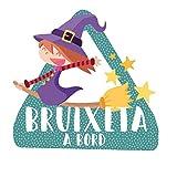 StarStick - Brujita a bordo– triángulo adhesivo de Bebé a Bordo - Catalán