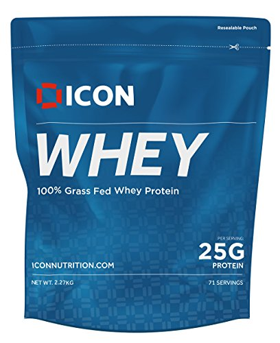Whey Protein Powder Grass Fed Pure Low Carb Protein Shake - Hormone Free Non-GMO | 71 Servings (2.27kg) - Chocolate Peanut Butter