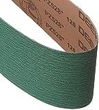 4 X 36 Inch Metal Grinding Zirconia Sanding Belts 40, 80, 120 Grits, 3 Pack Assortment