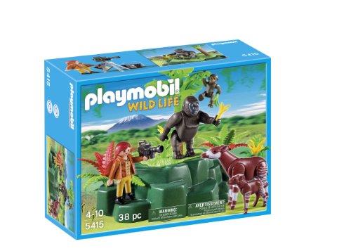Playmobil Vida Salvaje - Wild Life Gorilas Okapis